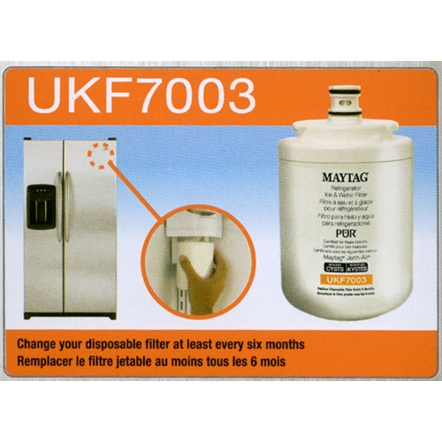 whirlpool water filter change instructions