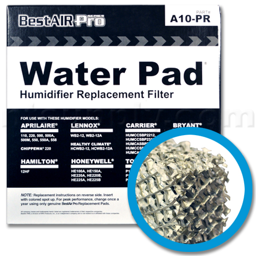 Replacement Water Panel for Whole House Humidifiers, 2-Pack